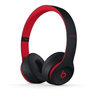 Beats Solo3 Wireless On-Ear Headphones - W1-CORE CHIP - The Beats Decade Collection - Defiant Black-Red