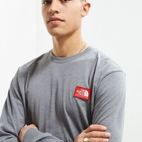 The North Face Patch Long Sleeve Tee   Urban Outfitters