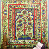 Tree Of Life, Hippie Tapestries, Tapestry Wall Hanging, Bohemian Tapestries, Indian Tapestries, Wall Tapestries, Dorm Tapestry Throw