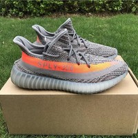 Best Online Sale Kanye West  x Adidas Yeezy 350 V2 Boost Beluga Sport Shoes  Running Shoes BB1826