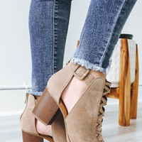 Madelyn Heels - Taupe