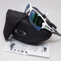 Oakley Flak 2.0 XL OO9188-9259 Polished White w/Prizm Jade Sunglasses
