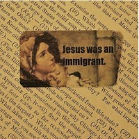 Jesus Was an Immigrant Lapel Pin