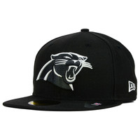 Carolina Panthers NFL Black And White 59FIFTY Cap - http://www.kqzyfj.com/click-7710548-11191294?url=http%3A%2F%2Fshop.neweracap.com%2FNFL%2FCarolina-Panthers%2F20462795 / Black / 100% Wool, Woven