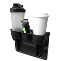 Evelots Custom Accessories,Auto Front Seat Organizers,Wedge Cup Holders