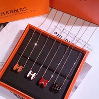 Hermes New fashion pendant clavicle women necklace gift