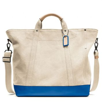 Coach :: Washed Canvas Beach Tote