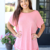 Endless Possibilities Tunic - Coral