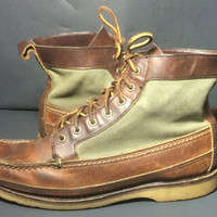 Red Wing® 9187 Wabasha Boot Amber Harness Brown Leather Boots Men's Size 9 E
