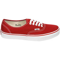 Vans Authentic Mens Shoes Red  In Sizes