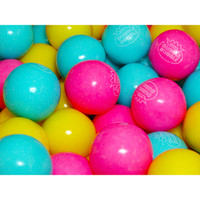 Cotton Candy 1-Inch Gumballs: 850-Piece Case