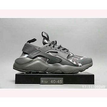 Nike Wallace running sports shoes F-HAOXIE-ADXJ  Grey camouflage
