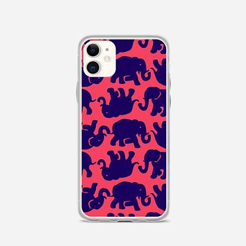 Lilly Pulitzer Kissy Pink iPhone 11 Case