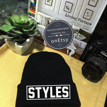 Harry Styles Beanie Styles 94 Cuffed Beanies Winter Hat Beanie Hat Use Flock Flex Really High Quality