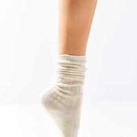 Slouchy Ribbed Sock - Urban Outfitters