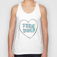 TEEN WOLF Unisex Tank Top by Sara Eshak