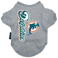 Miami Dolphins Dog Tee Shirt - Small
