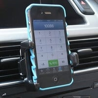 Good Universal Car Air Vent Mount Holder Stand for Smart Phone Cell Phone (Size: 2, Color: Black) = 1706173764