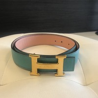 Authentic Hermes Reveesible Belt