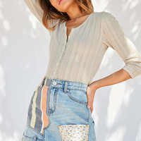 BDG Denim Patchwork Mini Skirt | Urban Outfitters