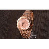 Pandora New trendy men and women with stylish stylish quartz watch F-YY-ZT Rose gold