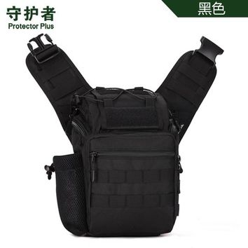 Sports gym bag Protector Plus K306 Outdoor  Camouflage Nylon Tactical Military Messenger Bag Hiking Camera Bag KO_5_1