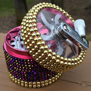 GRINDER -- Crank -- Fit for Royalty Mixed Metal + Iridescent