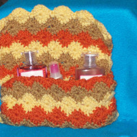 Crocheted  Bag Autumn Colors