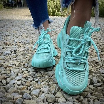 Fashion Lace Up Cargo Sneaker