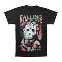 Falling In Reverse Men's  Maniac Slim Fit T-shirt Black Rockabilia