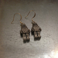Sci Fi Robot Earrings