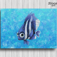 finding nemo nursery poster fishing decor nautical wall decor finding dory
