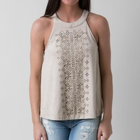 coco & jameson Laser Cut Tank Top