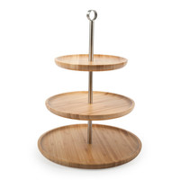 Core Bamboo: Three Tier Serving Tray, at 59% off!
