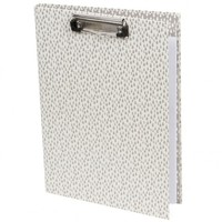 Raindrops Padfolio Ivory & Taupe - Fashion Stationery at Paperchase