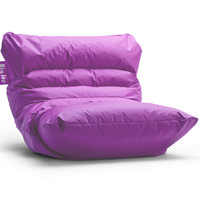 Big Joe Roma Radiant Orchid Bean Bag Chair In Smartmax