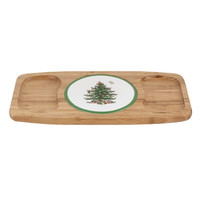 Spode Christmas Tree Entertain Cheese Tray
