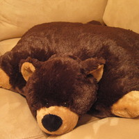 My Pillow Pet Brown Bear