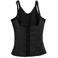 Squeem Firm Compression Miracle Vest Shapewear, Black, Medium