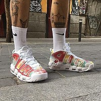 Nike Air More Uptempo Eu City Men And Women Gym Shoes