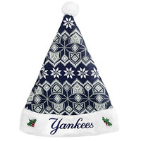 Forever Collectibles - New York Yankees Knit Santa Hat - 2015