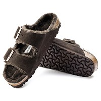 Birkenstock Arizona Suede Leather Mocha 1006405 Sandals