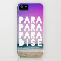 PARADISE iPhone Case by Leah Flores Designs | Society6