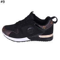 LV tide brand men and women models wild mesh breathable sneakers #9