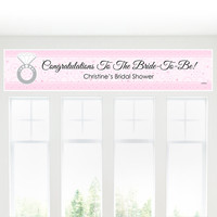 With This Ring - Personalized Bridal Shower Banners
