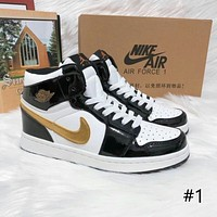 Air Jordan 1 High new men's and women's high-top wear-resistant casual sports basketball shoes