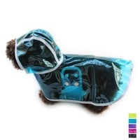 Armi store Transparent Dog Raincoats Hat Windproof Dogs Waterproof Raincoat 6161001 Pet Accessories Supplies