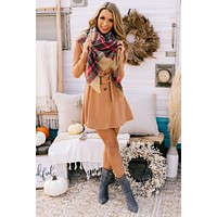 Not Playing Around Trench Coat Dress (Camel/Taupe)