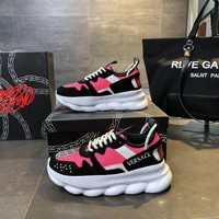 Versace Chain Reaction Sneakers #dsr103 - Best Online Sale