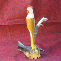 Whittled Rooster